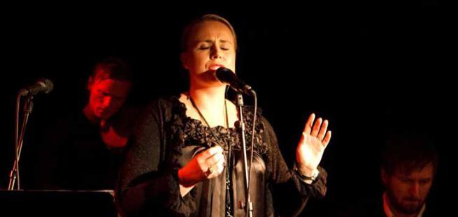 Camilla Maria. Releasekonsert på Sting